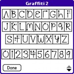 The Graffiti handwriting system